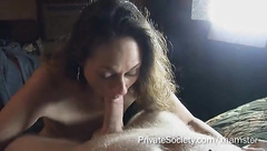 amateur neighbours wife wants to take part in a porn clip and fits well