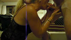Gorgeous MILF does the Piledriver and Rides her Man till they Cum together