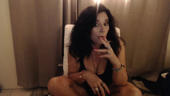 MOM JOI while Smoking with Countdown