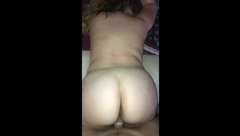 Big ASS PAWG from Tinder BARELY 18 POV Fucked Doggy