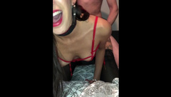 BLOWJOB AND ROUGH POV FUCK WITH SEXY ASIAN