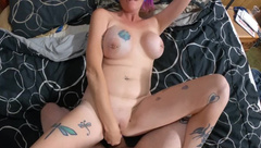 Chassidy Lynn - POV, Anal Caught my Room Mate Jerking off to my Video!!