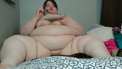 SSBBW Cums while Eating Cake (full Version)