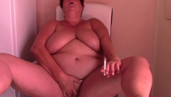 Smoking Horny MILF