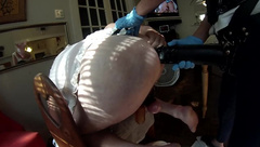 Submissive Husband Femdom Pegging, Fisting