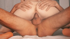 Quick Sex Young Couple, Jumped on a Big Dick