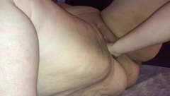 Amateur BBW Fisted and Squirting