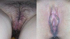 My Hairy Pussy and Anal are getting Smooth. Depilation