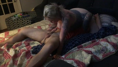Step Son comes back from College to a Hot Fucking
