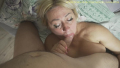 Stepmom Begged me to Cum on her Dirty Panties!