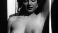 Marvelous Girl Posing and Showing Boobs (1950s Vintage)
