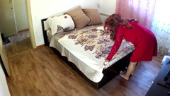 The Stepmother Laid the Bed for the Stepson. Anal Sex Stepmom and Stepson.