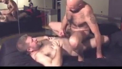 Hot bearded gays fucking and jerking off