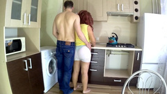 The Stepmother Loves to have Anal Sex with her Son. Mom with Big Ass Anal