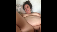 Wife Slurpy BJ then Begs to get Fucked and Filled Amateur Homemade Creampie