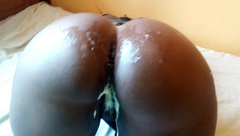 Big Butt Girlfriend Fucked Hard and Creams all over