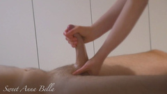 Best Slow, Sensual and Intense Handjob with a Fat and Big Lubed Cock !!!