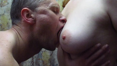 Sensitive Licking and Nipple Sucking of a Hot Busty Ukrainian Girl