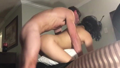 My Sexy White Stud Fucks my Tight Asian Pussy and makes me Scream WMAF