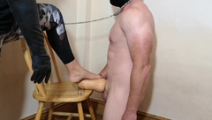 Chastity Release : Hubby Released after Locktober for a Halloween Treat