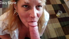 Mature Daizy Layne Blowjob! Deepthroat! Swallow! Cumshot! Compilation!