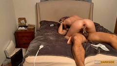 Sexy MILF Ride Cock with Butt Plug for the first Time-Messy Creampie