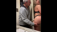 Daddy Walked in on and Ended up Fucking her