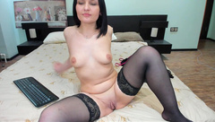 SANITA_HOPPERS ass clappin and fucking her ass with her fingers n toy,felt so good in private premium video 2016-09-10