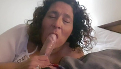 Mom and Stepson Blowjob