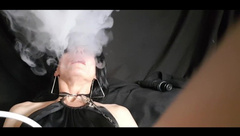 Sexy MILF Smoking Hot in Smoking Clips/ Agressive Faceride