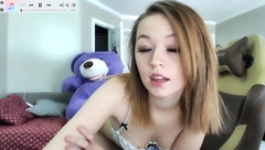 anabelleleigh, flashing, small tits, teen
