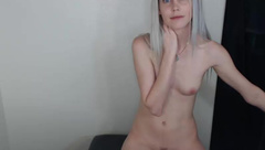 fionasage, naked, skinny, small tits, naked, piano