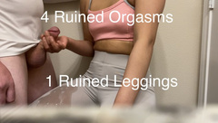 He Ruined my Leggings when I Ruined his Orgasm after Workout