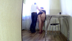 The Stepmother Loves Anal Sex with her Stepson. Stepmom with Big Ass Anal