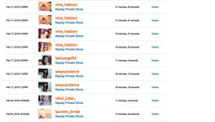 My Private Show List ;)