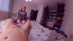 Experiments with a Camera Angle))) Blowjob;)