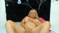 old blonde latina with big tits