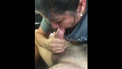 Slutty Latina MILF Rewards me with Sloppy Blowjob for Fucking her until she