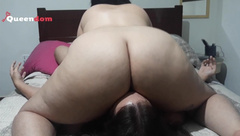 BBW Facesitting and Smothering in Sweatpants