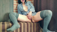 Hot Girl Passionate Fingering and Tells his Dirty Fantasies - Solo