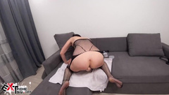 Babe Fisting all Holes and Anal Expander with Vibrator