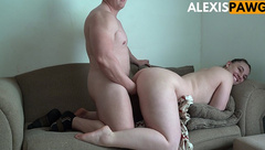 Juicy Amateur PAWG get Fucked and Huge Cum on Perfect Jiggly Ass