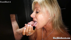 Cock sucking dick eaters love sucking guys in a gloryhole