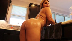 HD Porn Videos by Crystina Rossi Oiled Up & Fucked 1