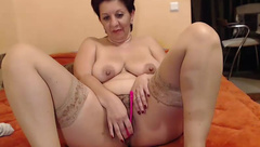 ambolina70 - huge boobs and masturbation