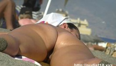 Sexy amateur hidden beach cam video a spy cam