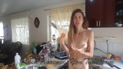 Rain Florence - First Nude Patreon Smoothie Video