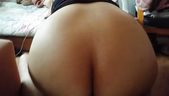 big arabic ass riding my dick