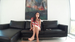 CastingCouch-X Swimsuit model fucks in audition