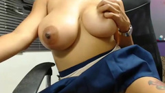 nily (2014) busty black areolas jupe  part. 05